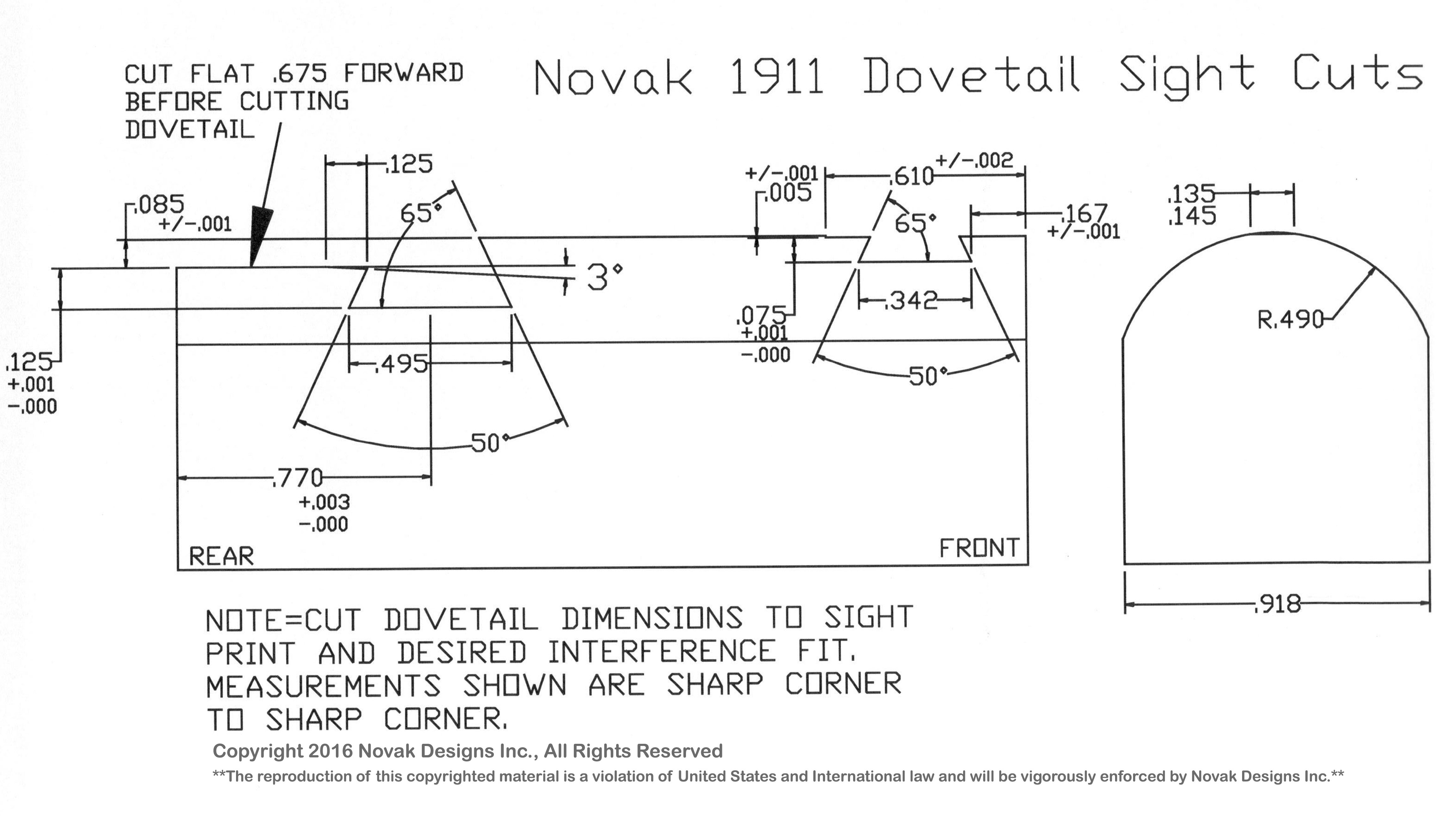 Kimber 1911 Sight Diagram Best Electrical Circuit Wiring Exploded Sights 101 Rh Novaksights Com Breakdown Parts